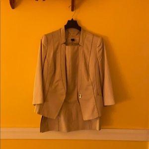 Work suit.
